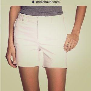 Eddie Bauer 100% Womens cotton shorts